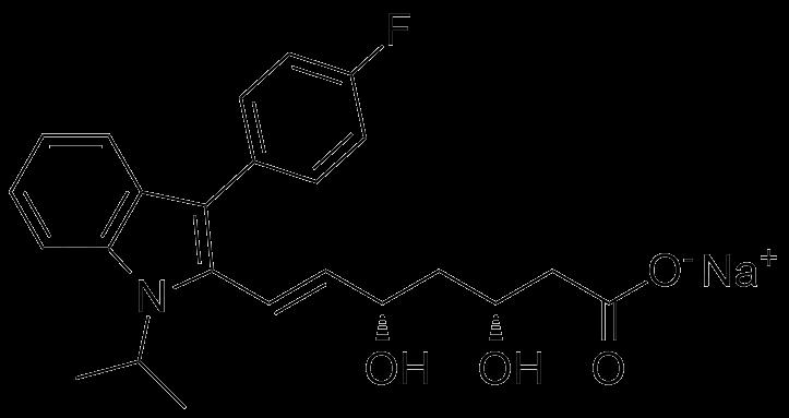 (3R,5S)-Fluvastatin Sodium Salt