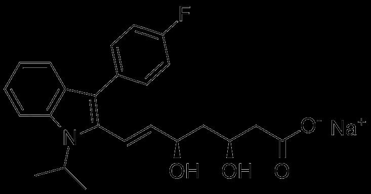 (3S,5R)-Fluvastatin Sodium Salt