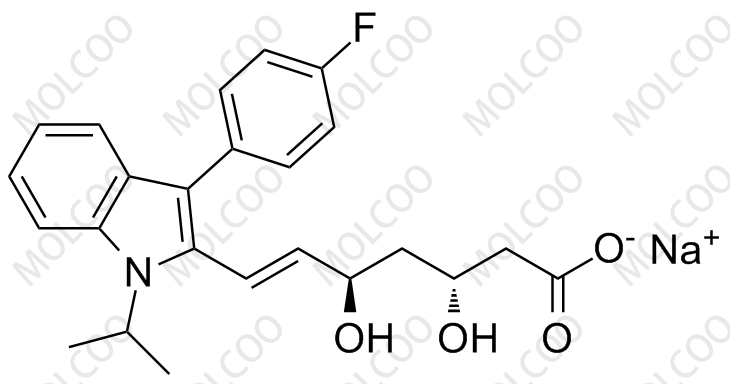 (3R,5R)-Fluvastatin Sodium Salt