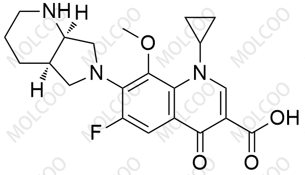Moxifloxacin-R-isomer (ent-Moxifloxacin)